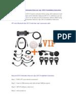Autocom 2013.3 Activation Autocom cdp+ 2013.3 installation instruction