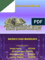 nasikhdanmansukh-131215230730-phpapp02