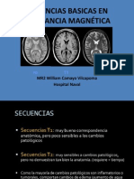 Secuencias Basicas en Resonancia Magnética