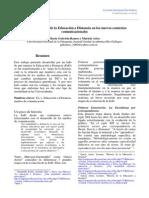 Desafíos y Riesgos de La Educación a Distancia en Los Nuevos Contextos Comunicacionales