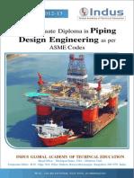 PIPING Design Engg Brochure