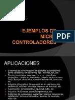 Ejemplos de Microcontroladores