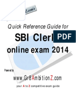 SBI Clerks Current Affairs Quick Reference Guide