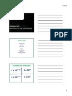 Probiotics Slides