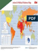2014 Terrorism Map
