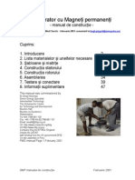 GMP Manual de Constructie