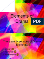 Elements of Drama PP
