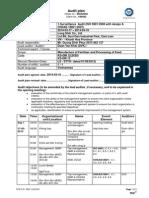 Audit Plan (Long Sinh) ISO 9K and 18K 1SA