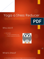 Yoga a Stress Reducer