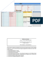 2014 Calendar Linear V1.0