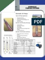 Hydraulic Pumping Systems Brochure
