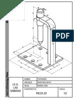 Autocad 3d - Practica Calificada