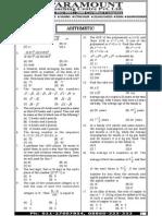 Ssc Mains (Maths) Mock Test-9