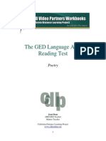 GED14 (Poetry)