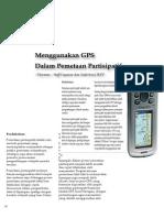 GPS Dalam Pemetaan Partisipatif
