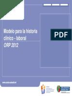Historia Cl Lab Orp 12