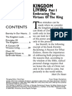 Kingdom Living Part 1 Embracing the Virtues of the King