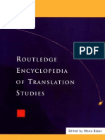 Mona Baker Encylopedia of Translation Studies