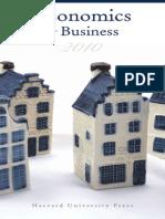 Harvard University Press Economics and Business 2010