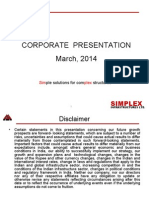 Corporate Presentation-SIMPLEX INFRA