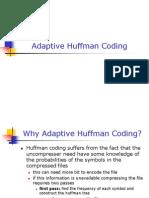Adaptive Huffman Coding[1]