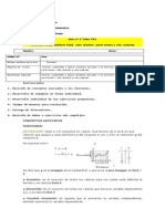 4º Medio TALLER PSU Matemática Funciones