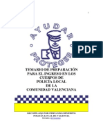 Temario 2005 Policia Local C.V.
