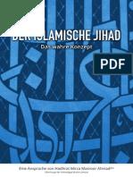 Der Islamische Jihad Das Wahre Konzept