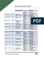 Saps Telephone Directory 2014- Western Cape