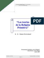 Pritchard, Evans - Teorias de La Religion Primitiva