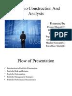 Portfolio Construction and Analysis-darshit