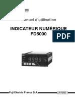 Notice Fuji Ind Fd5000