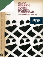 Brunner Catalan Cinco Estudios Sobre La Cultura y Sociedad