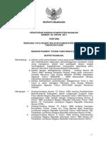 Peraturan Daerah Kabupaten Nganjuk Nomor 02 Tahun 2011 tentang Rencana Tata Ruang Wilayah Kabupaten Nganjuk Tahun 2010 - 2030