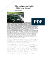 Why Does The Mainstream Media Ignore The Bilderberg Group?