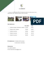 Alojamientos y Precios XV Encuentro Iberoamericano de Cementerios - Quillota 2014