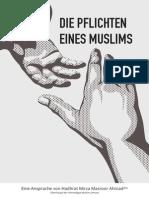 Die Pflichten eines Muslims