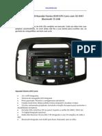 2008 2009 2010 Hyundai Elantra OEM GPS Carro Com 3G WIFI Bluetooth TV USB
