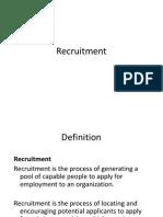 Recruitment and L5