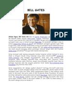 Biografi Bill Gates (Pendiri Microsoft)