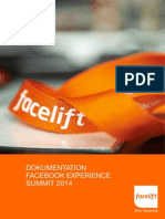 Facelift Facebook Experience Summit Dokumentation