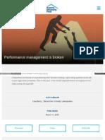 Dupress Com Articles Hc Trends 2014 Performance Management