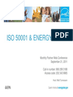 Iso 50001 and Energy Star