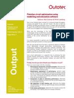 Flotation Circuit Optimization Using Modelling And