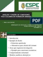 Conexión Viga-Columna - Pablo Caiza