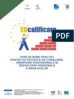 Ghid de Bune Practici Pentru Activitatile de Consiliere, Orientare Profesionala Si Dezvoltare Personala a Angajatilor