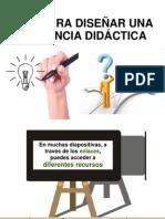 Guía Para Diseñar Secuencia Didáctica.