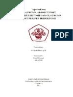 Laporan Kasus Glaukoma Absolut