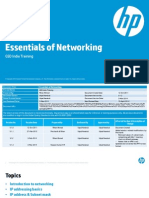 Essentials of Networking