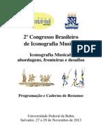 2013 BENETTI. Registro Iconográfico de Guilherme - Resumo (2o CBIM)